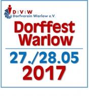 Dorffest Warlow 2017 - Tanz & Disko - 27.-28.05.2017 (Dorfverein Warlow e.V.)