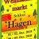 Weihnachtsmarkt auf Schloss Hagen bei Kiel
