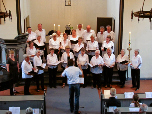Sommerkonzert der Wiker Chorvereinigung  von 1876 Kiel e.V.