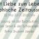 """Lesung: """"Mit Liebe zum Leben - Biographische Zeitausschnitte"""""""