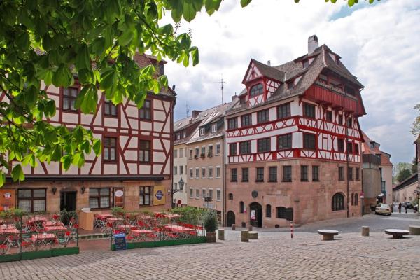 Albrecht Dürer Haus Nürnberg gaumenkitzel-tour nürnberg altstadt in nürnberg am 25.11.2017