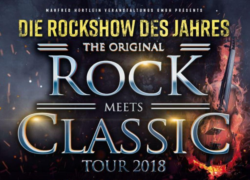 Rock Meets Classic In Neu Ulm Am 18042018 Ratiopharm Arena Ulm