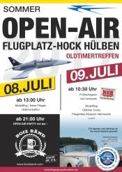 Flugplatzhock mit Modellflugvorführungen
