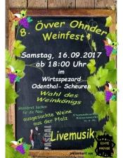 8. Övver Ohnder Weinfest