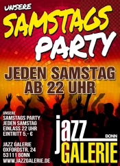 Unsere SamstagsParty