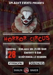 "Splashy Events ""Horror Circus"""