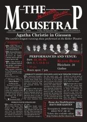"The Keller Theatre presents ""The Mousetrap"""