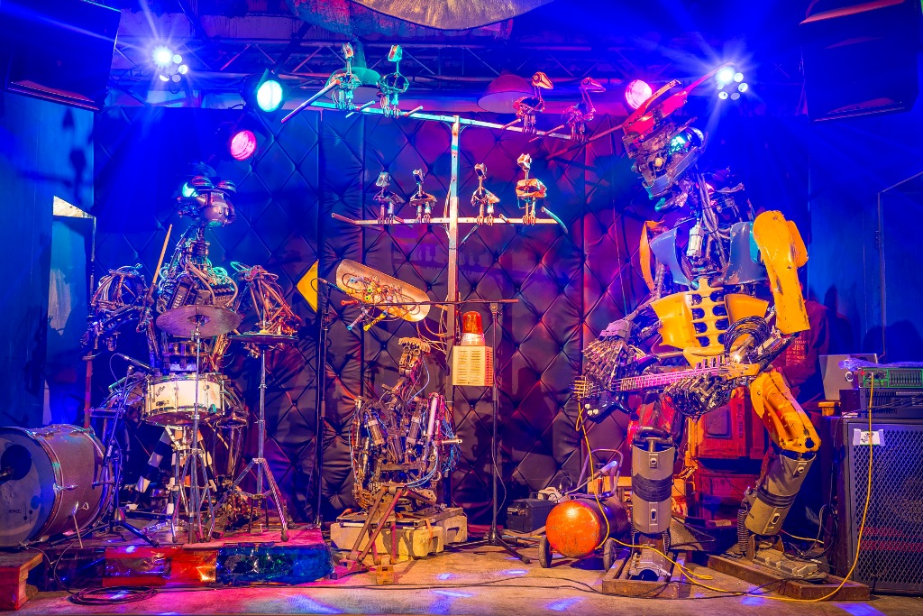The World Best Roboter Band: One Love Machine Band