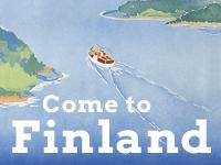 Come to Finland / Auf nach Finnland - Finnische Reiseplakate seit 1850
