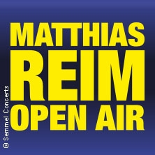 Matthias Reim - Open Air 2018
