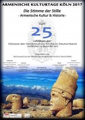 """Eröffnungsabend -""""Das Schweigen Ararats – Armenische Kultur & Historie"""""""