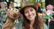 Kollin Kläff und der gestohlene Zauberstab | Puppentheater von und mit Maya Raue für Kinder ab 2 Jahren