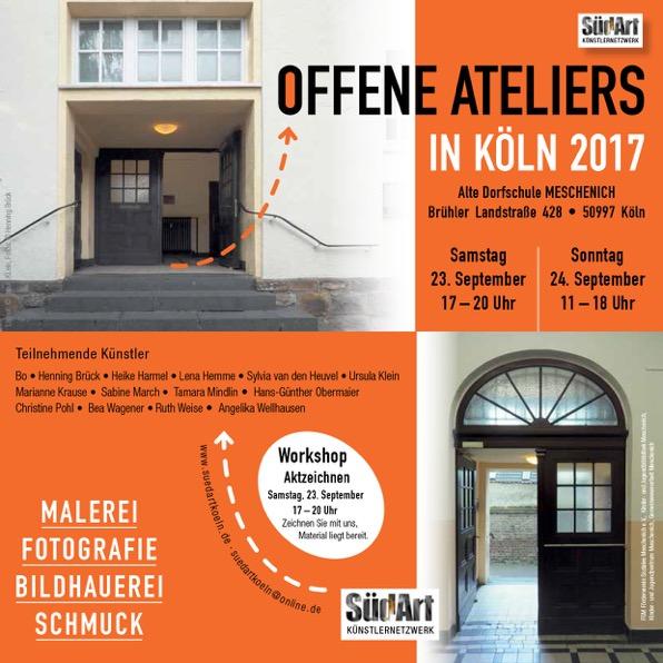 Offene Ateliers SüdArt Köln
