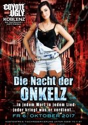 Die Nacht Der Onkelz Im Coyote Ugly Koblenz Vol. 25