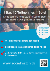Kennenlernen in Hamburg mal anders - Socialmatch