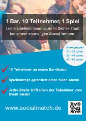 Kennenlernen in Köln mal anders - Socialmatch