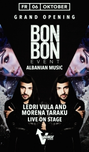 Club Virage // BonBon Ledri Vula / Morena Taraku - live on stage - // 06.10.17