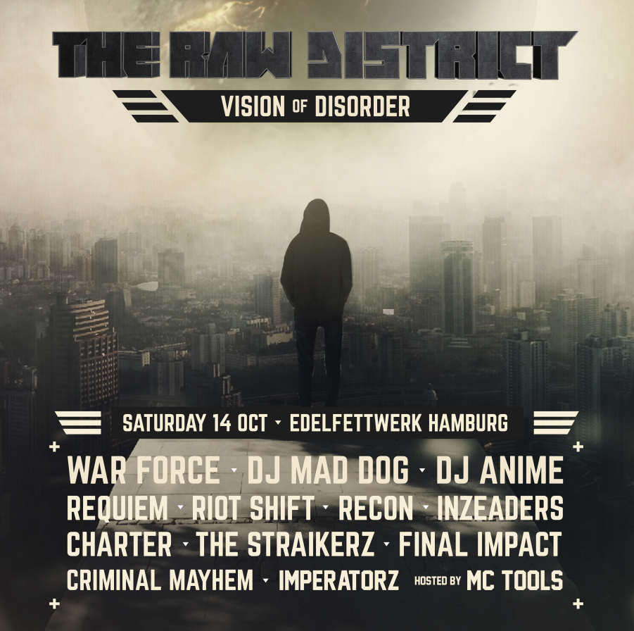 The Raw District Vision Of Disorder In Hamburg Am 14102017