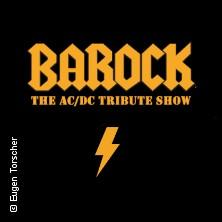 Tickets Für Barock Europas Größte Acdc Tribute Show In Dresden Am