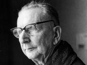 Der Maler und Grafiker Hans Förster