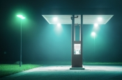 At night. Fotografien von Andreas Levers