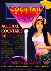 Cocktail Nacht Vol. 1 - Alle Xxl 5€ Im Coyote Ugly Koblenz