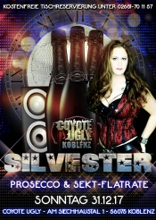 Silvester - die Prosecco & Sekt Flatrate Party in Koblenz