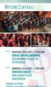Von Beatles bis Bethlehem-Chorkonzert