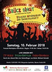 """""""Brück singt"""" - Kölscher Mitsingabend und Karnevalsparty"""