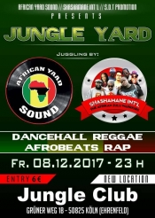 Jungle Yard - Best of Reagge. Dancehall, Afrobeats & Rap