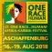 21. One Race Human Akf: Zeltplatzticket