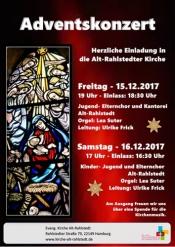 Adventskonzert in der Alt-Rahlstedter Kirche