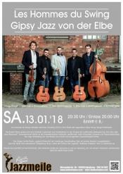 Jazzmeile presents: Les Hommes du Swing Gipsy Jazz von der Elbe
