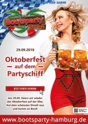 Oktoberfest 2018 auf dem Schiff in Hamburg