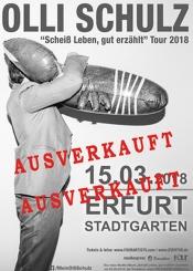 Olli Schulz: Scheißleben Gut Erzählt - Tour2018