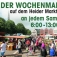 Traditioneller Wochenmarkt