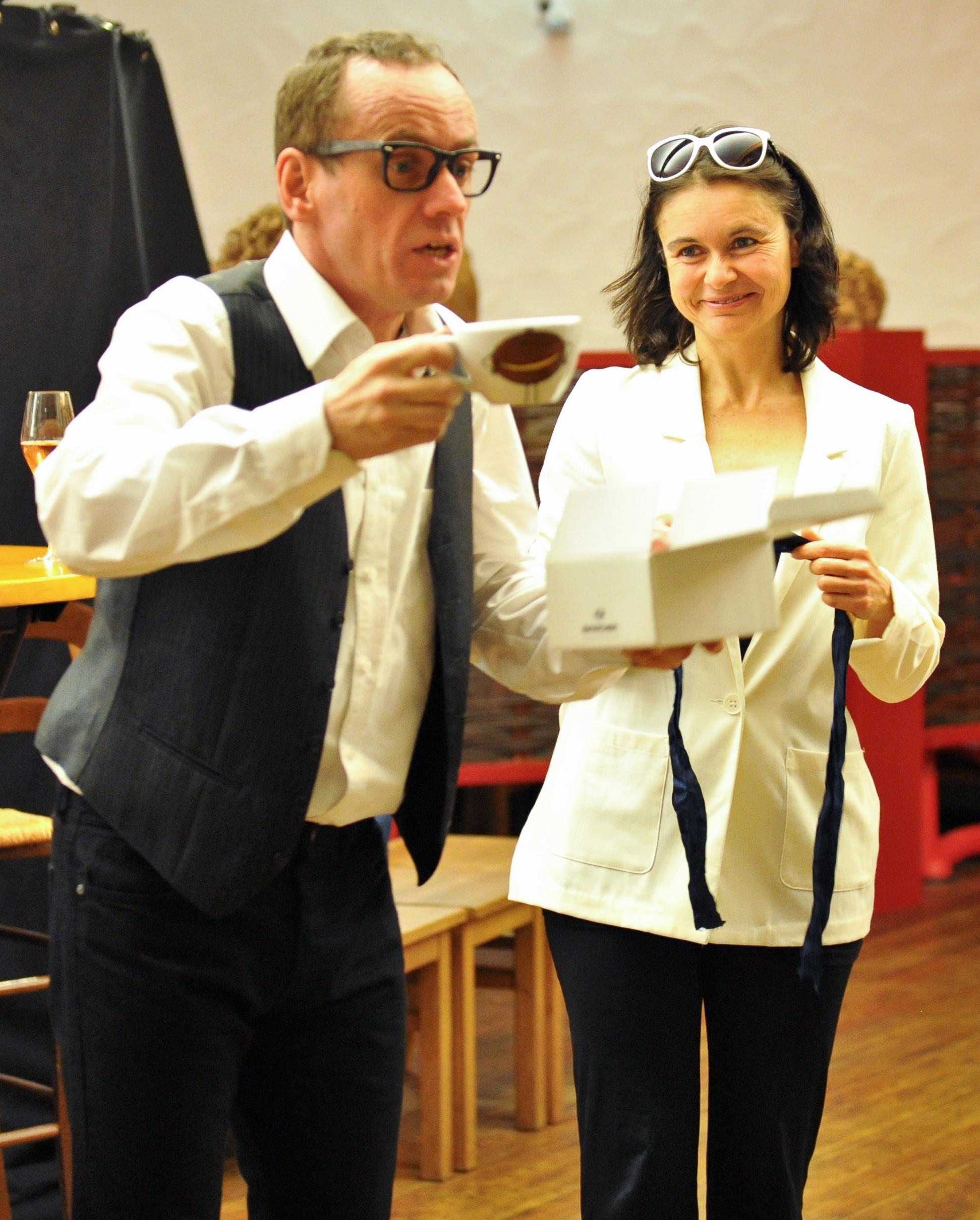 Krimi und Dinner, Mord(s)dinner- Theater Q-rage, Hessigheim