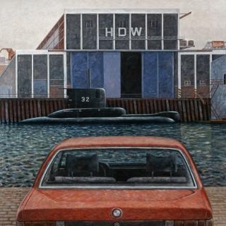 Politische Malerei der 1970er und 80er Jahre