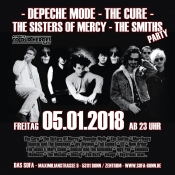 Depeche Mode + Cure + Sisters + The Smiths Party