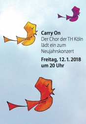Carry On: Neujahrskonzert des TH-Chors