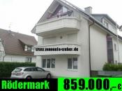 Kapitalanlage in 63322 Rödermark-Hessen