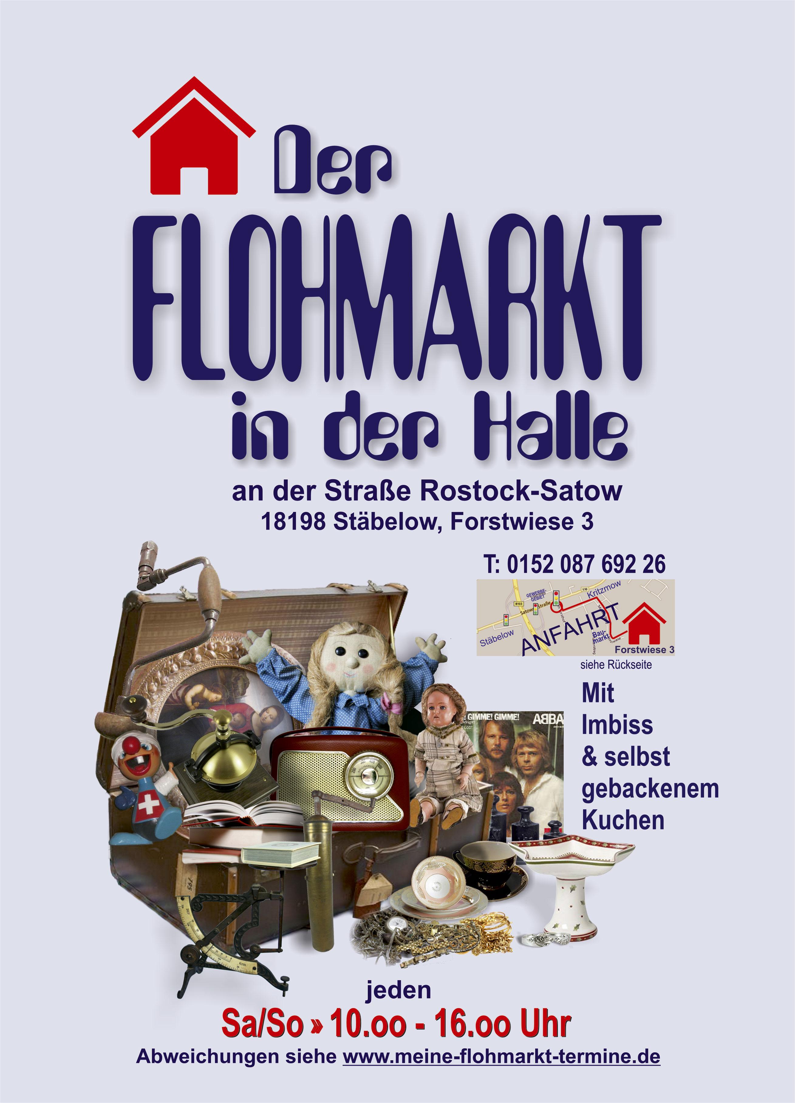 Der Flohmarkt in der Halle - Stäbelow