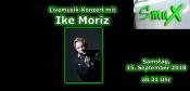 Livemusik-Konzert mit Ike Moriz