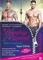 Daberkow Reloaded! - Frauentagsspecial mit den Berlin Dreamboys