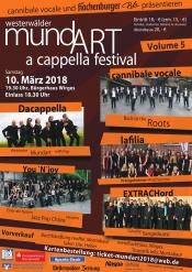 westerwälder mundART acappella festival Volume5