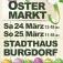 Ostermarkt Burgdorf 24. und 25. März 2018