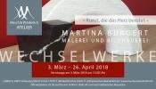 Ausstellung Wechselwerke Martina Burgert