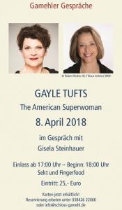 Gamehler Gespräche mit Gayle Tufts