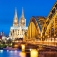 Eine Fahrt zum abendlichen Köln