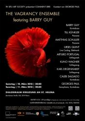 The Vagrancy Ensemble feat. Barry Guy (1. Konzert)